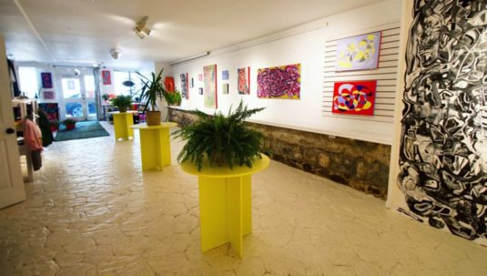 VIBES, Solo Show by Claire, York Lane Art Collective, 2018